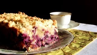 Blueberry Crumb Cake -- Recipe And Tutorial