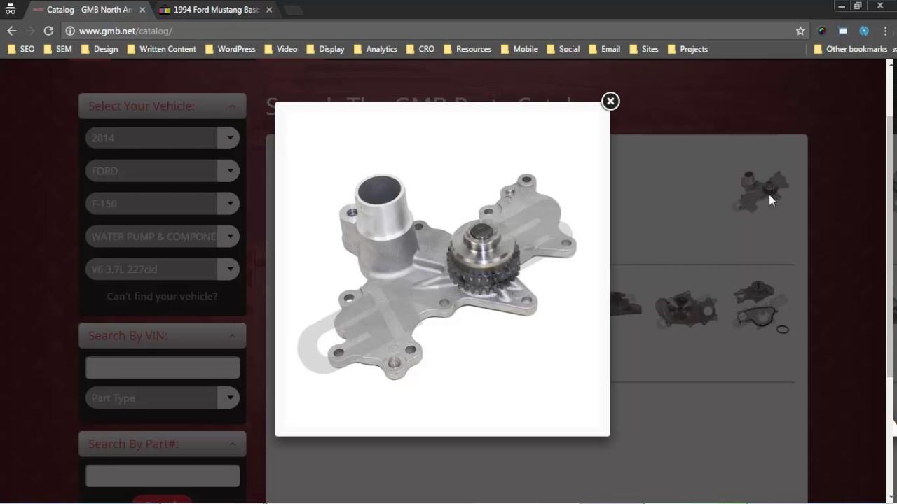 ShowMeTheParts WordPress Plug-in for Auto Parts Searches