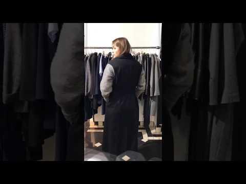 Женский жилет пальто | Интернет-магазин Am'Werkstatt | Распродажа пальто