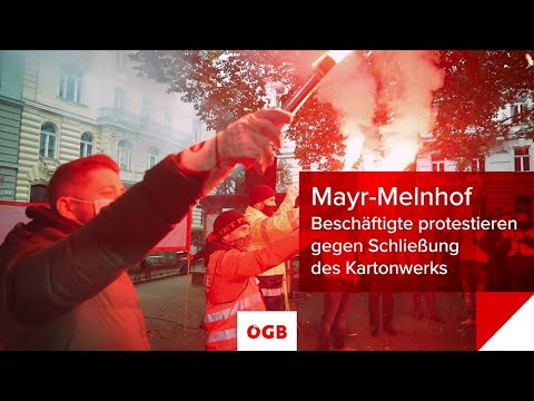 Mayr-Melnhof: Protest gegen