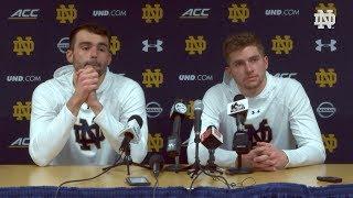 @NDMBB | Player Post-Game Press Conference vs. Syracuse (2020)