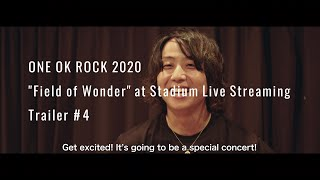 "ONE OK ROCK ""Field of Wonder"" – Preview Trailer #4"
