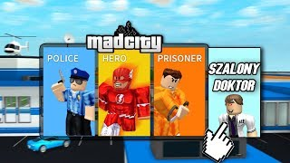 💎SZALONY DOKTOR W MAD CITY! I ROBLOX #317💎