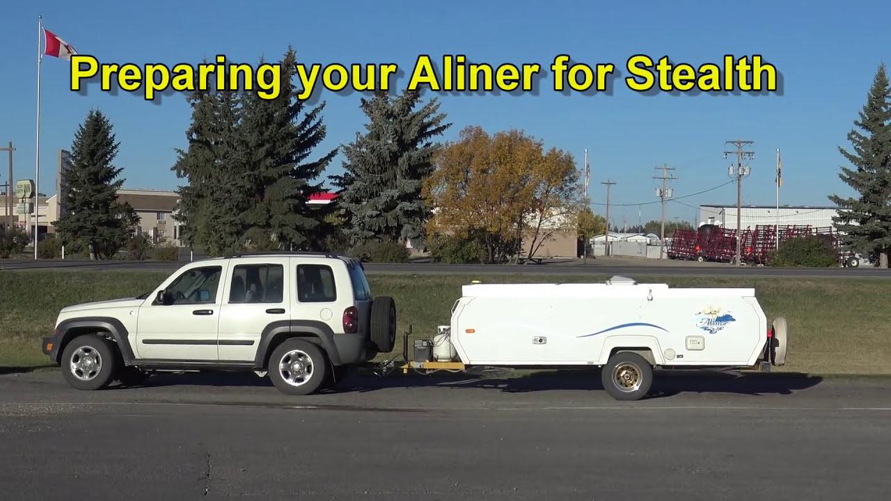 Going Stealth In An Aliner Part 1  Slim Potatohead 09:18 HD