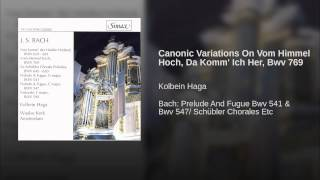 Canonic Variations On Vom Himmel Hoch, Da Komm
