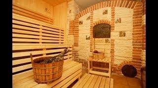 Разработка дизайна русской бани, советы по оформлению, фото и видео