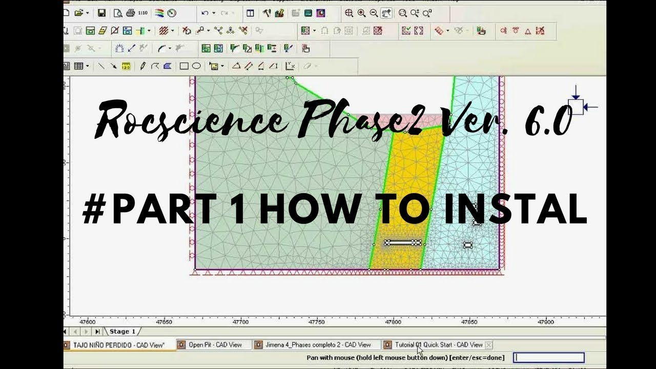 Rocscience Phase2 Ver  6 0 # Part 1 How to Instal