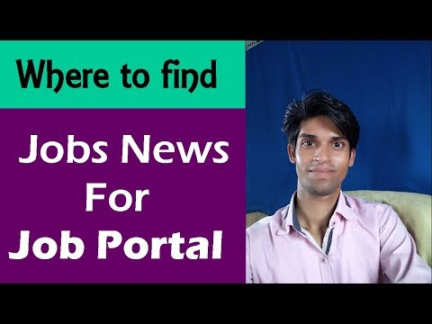 Where to find jobs news for job portal website