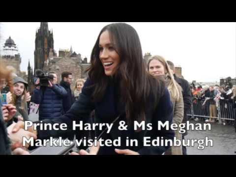 【Full】Prince Harry & Ms Meghan Markle visited in Edinburgh