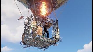 Rust - Воздушный шар! Первый обзор!