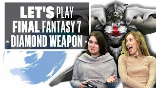 Let's Play Final Fantasy 7 Episode 19: DIAMOND WEAPON AND SPAAAACE