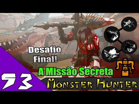 Monster Hunter Freedom Unite | EP 53 | Nekoht's Quests | A QUEST SECRETA DA VILA , BATALHA FINAL !!