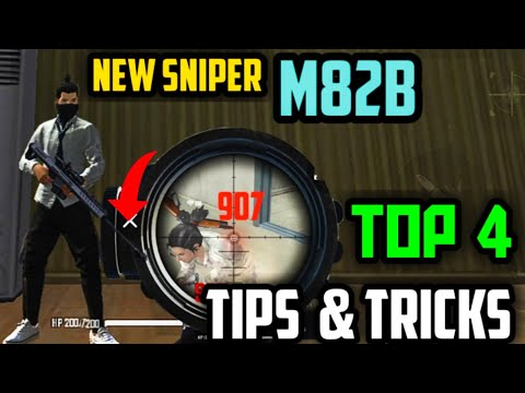 New Sniper M82B Top 4 Tips and Tricks | Garena Free Fire