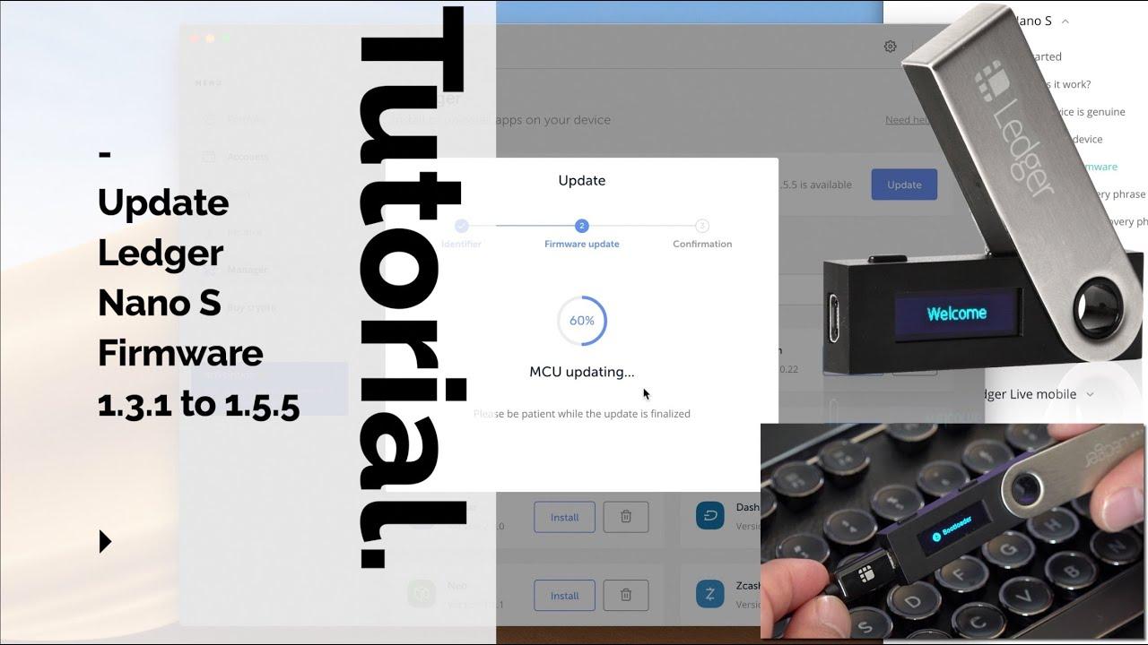 Ledger Nano S Firmware