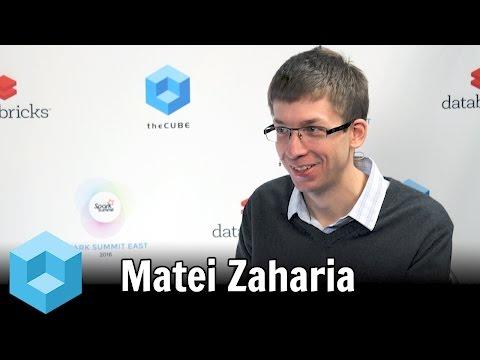 Matei Zaharia – Spark Summit East 2016 – #SparkSummit – theCUBE