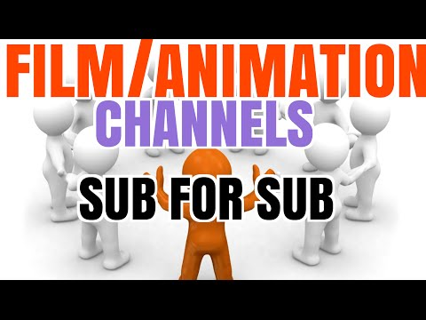 SUB FOR SUB CENTER 2016 | FILM/ANIMATION CHANNELS