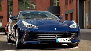 The New Ferrari GTC 4 Lusso on the streets! [Mr Rear]