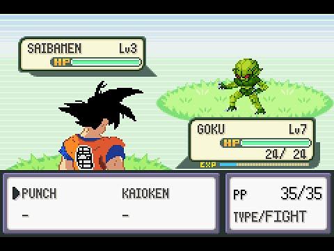 Trailer DBZ Team Training (Pokémon hack)