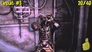Dead Space 3: Chapter 14- All Collectibles Locations(Artifacts, Logs, Weapon Parts & Circuits) - HTG