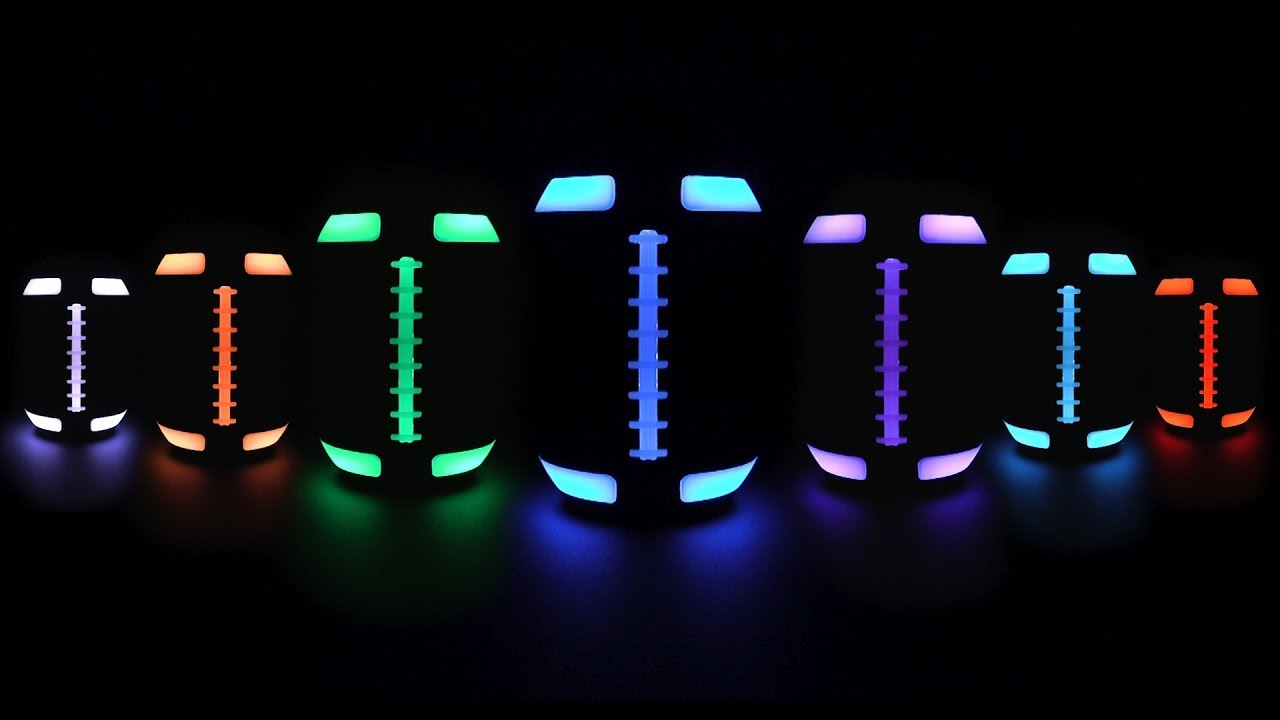 Gronkball Light-up Bluetooth Speaker Football