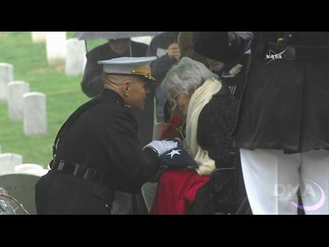 Interment Ceremony for John Glenn