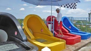 Wet 'n Wild Orlando - Aqua Drag Racer | Head-first Mat Slide Onride POV