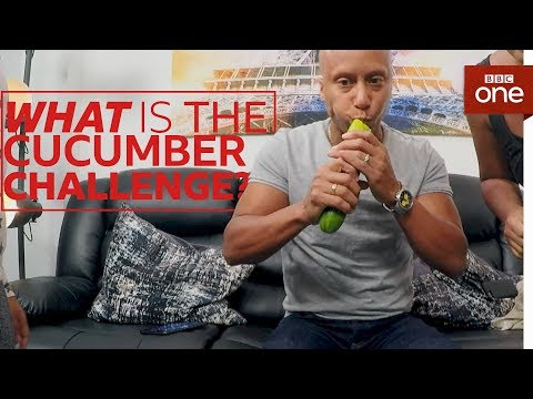 How quickly can you eat a cucumber? - The Button - BBC One