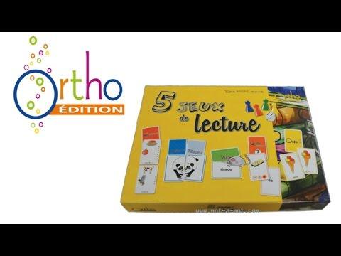 5 jeux de lecture    Ortho-Edition [Jeux N°67]