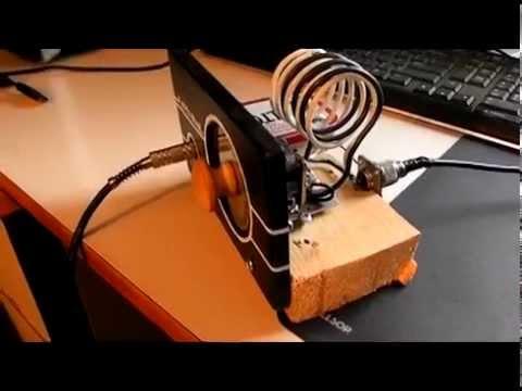 CB Radio Crystal set with Coax and Ground Plane CB Antenna
