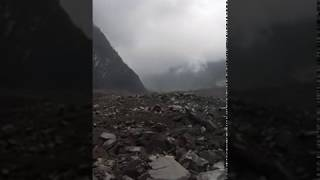 Landslide in Sichuan, China - Mobile phone footage 2