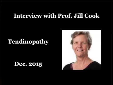 An interview with Prof. Jill Cook on Tendinopathy