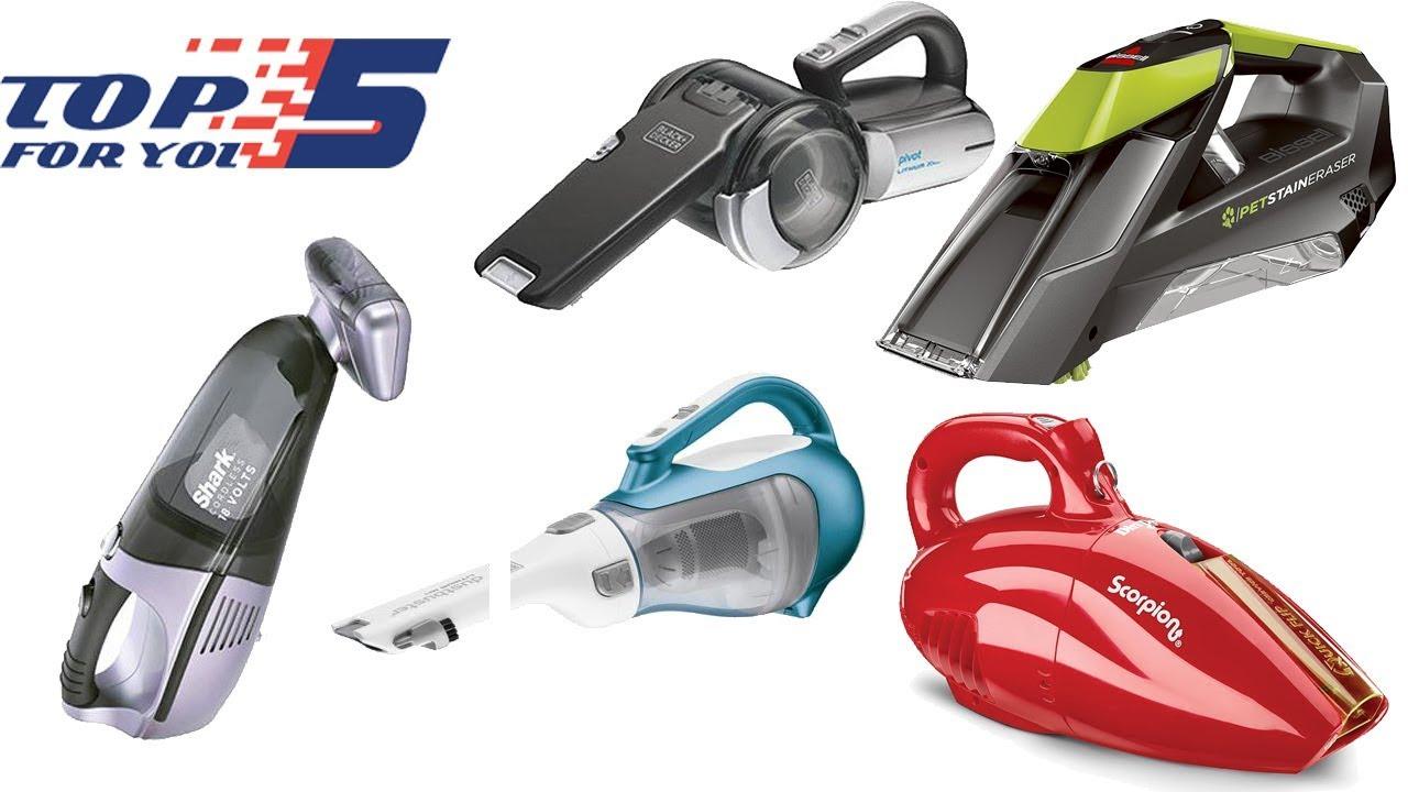 01fbde78649 Top 5 Best Handheld Vacuum Cleaners of 2018 - YouTube