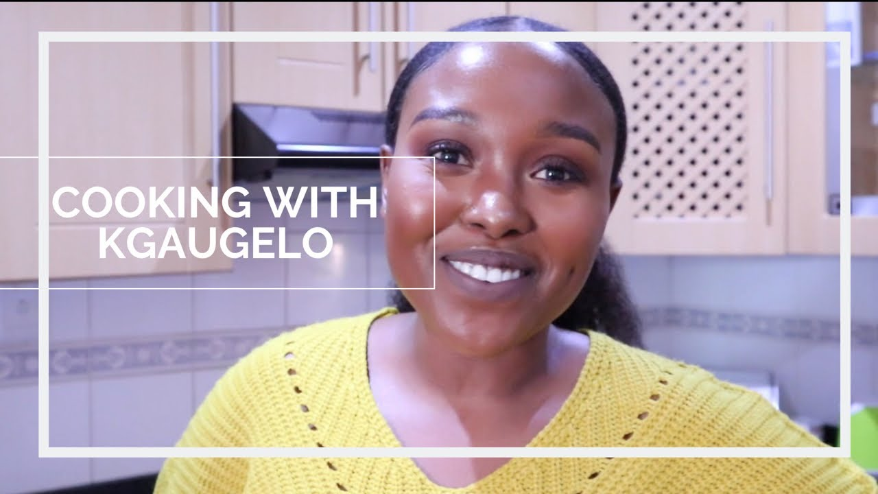 Cooking with Kgaugelo | Prawns with Basmati rice and butternut | South African Youtuber