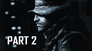 Call of Duty 4 Modern Warfare Remastered Walkthrough Part 2 - The Bog & Hunted (COD4 Campaign)