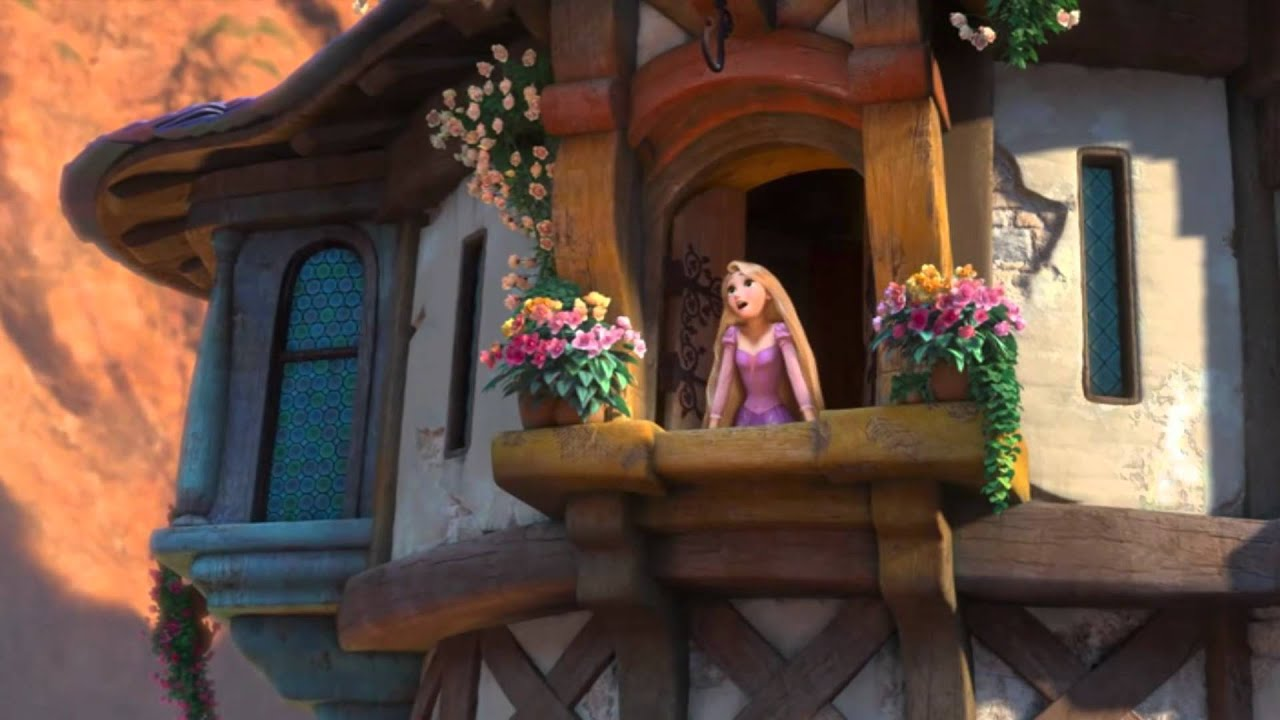 Tangled castle close up