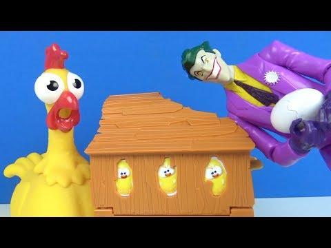 Gıt Gıt Gıdak Yumurtam Sıcak Eğlenceli çocuk Oyunu Johny Johny Yes Papa Tavuğumu Sen Mi Aldın Joker?