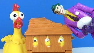 gıt gıt gıdak yumurtam sıcak eğlenceli çocuk oyunu johny johny yes papa tavuğumu sen mi aldın joker