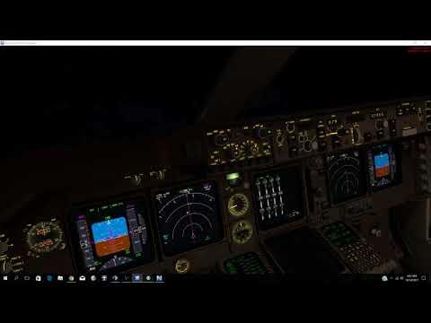 Air India 102 B747-400 Arrival into Dublin