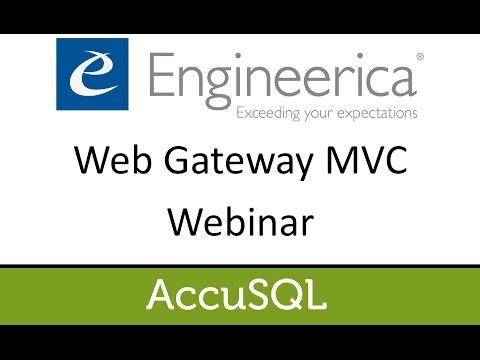 Web Gateway MVC Webinar
