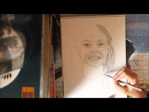 The Making of - Drawing Emily-May Stephenson from Matilda