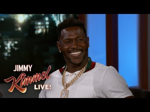 Antonio Brown on Tom Brady, Madden Cover & His Kids