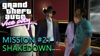 Grand Theft Auto: Vice City - Mission #21 - Shakedown | 1440p 60fps