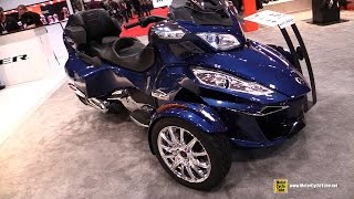 2017 Can Am Spyder RT Limited - Walkaround - 2017 Toronto Motorcycle Show