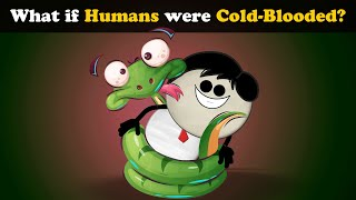 What if Humans were ColdBlooded? | #aumsum #kids #science #education #children