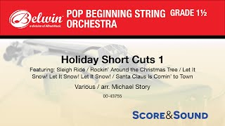 Holiday Short Cuts 1, arr. Michael Story - Score & Sound