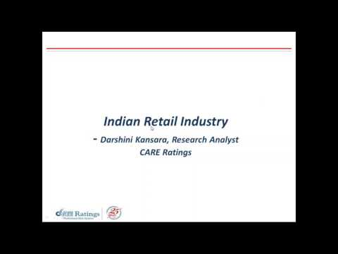 CARE Ratings Webinar on Indian Retail Industry - Structure & Prospects