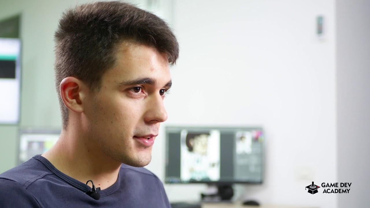 Alexandru Oprea povesteste despre experienta GameDev Academy!