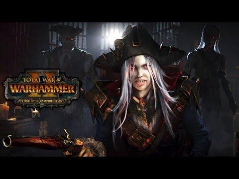 Total War Warhammer 2 - All Vampire Coast Cutscenes + Ending - Story Campaign Cinematics