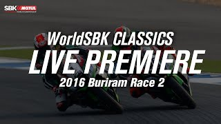 FULL Race 2 Buriram 2016