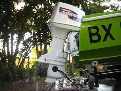 70 HP JOHNSON OUTBOARD TACHOMETRE EBAY - YouTube